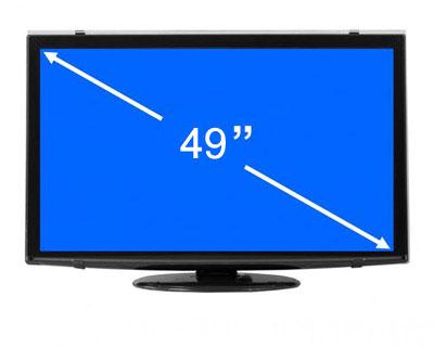 صفحه نمایش 49 اینچ